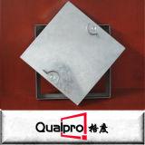 Portello di accesso d'acciaio placcato zinco del condotto quadrato AP7430