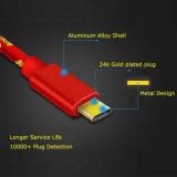 Tipo trançado de nylon cabo 3.0 do USB de C para para a galáxia S8 de Samsung do interruptor do LG G6 V20 G5 Nintendo do pixel de Google mais