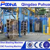 Hängender Kettentyp Granaliengebläse-Maschine für Gießerei-Industrie