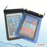 Sac imperméable à l'eau respectueux de l'environnement de tirette de couche intercalaire pour l'iPad mini