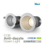 8W Anti-Glare COB Downlight con Philips Driver/COB Project Downlight