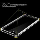 Cellule TPU d'iPhone transparent de cas de la qualité/couverture annexes de téléphone mobile pour le cas 6s de l'iPhone 6