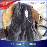 Werpen het Bruine Flanel van Wholesales en Wasbare Verwarmd Elektrisch van de Hand