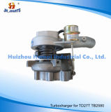Turbocompresseur pour Nissans Td27t Tb2580 Tb25 Tb2527 Ht12 T2052s 14411-G2407