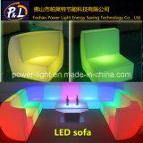 Iluminado Presidente LED Muebles Bar Sofá plástico