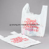 Подгонянный мешок тенниски логоса пластичный для супермаркета