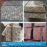 Natural Grey Granito Cobblestone / Kerbstone / Blind Pavimentando Jardim Pedra Pavers