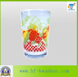 Pringtingの花のティーカップの高品質のガラス製品のKbHn0760