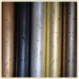 Interior Decoration 1.5mm Thickness A007-01のための金属PVC Decorative Sheet