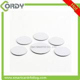 runde/Platte/Münze 30mm RFID versieht Aufkleber 125kHz mit Warnschild