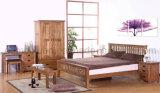Camas matrimoniales modernas de la base de madera sólida (M-X2244)