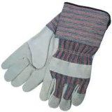 Оборудования безопасности перчаток Split Cowhide кожаный садовничая
