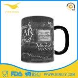Caneca de café cerâmica do copo de chá com projeto engraçado da filhós