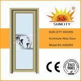Portes en aluminium intérieures de toilette du plus défunt modèle (SC-AAD009)
