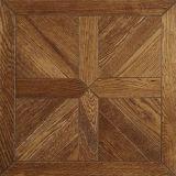 O mosaico da madeira de carvalho pavimenta o revestimento arborizado projetado assoalho do teste padrão