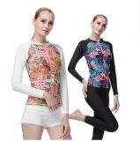 Подныривания Suit& Взрослого Beachwear высокомарочной Lycra длинней втулки повелительницы