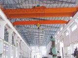 pont roulant de double poutre modèle de la main gauche 10t avec les machines de levage d'élévateur électrique