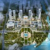 Центральное перевод Cbd вида с воздуха плана финансового района