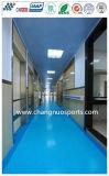 Pavimento di gomma di Soundmuffling di bellezza per l'hotel/banco/Assemblea corridoio/ospedale