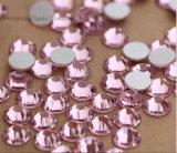 Кристаллы Non Hotfix Rhinestones Fix задней части ногтя Rhinestone 5mm Rose кристаллический стекла плоские Non горячие Flatback (FB-ss20/5mm 3A)