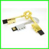 Azionamento dell'istantaneo del USB di tasto di Thumbdrive del bastone del USB del metallo mini