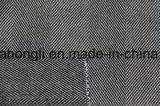 Tela teñida hilado de T/R, clase aplicada con brocha de la tela, 63%Polyester 34%Rayon 3%Spandex, 255GSM