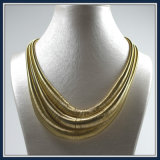新しい項目ワイヤー鎖の金の方法ネックレスの宝石類