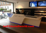 Einzelhandelsgeschäft-Kostenzähler BADEKURORT kleiner Empfang-vorderer Schreibtisch-heißer Entwurf