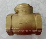 1/2 horizontales Messingrückschlagventil des Zoll-Inch-4 (YD-3009)