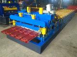 Il controllo idraulico del PLC di Dx del motore ha lustrato il rullo delle mattonelle che forma la macchina