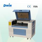 Cuero acrílico MDF Vidrio Plástico Papel de CO2 de corte por láser máquina de grabado (DW9060)