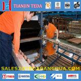 De Spiegel AISI 304 beëindigt het Blad van het Roestvrij staal