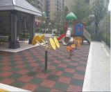 Tamaño medio del azulejo de goma al aire libre / Caucho Pavimentadora