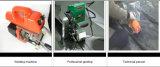 LDPE Machine van het Lassen van de Wig van Geomembrane van de Samenstelling de Hete