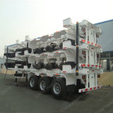 2016 Hot Sale 40 FT Skeleton Semi-Trailer Container Chassis
