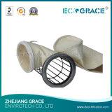 Saco de filtro eficiente elevado do PPS da filtragem do gás de conduto da caldeira