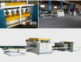 PVC automatique de travail du bois ou ligne feuilletante de papier