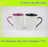 Sublimation inner u. Griff-Farben-überzogene keramische Kaffeetasse