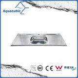 Boven de TegenGootsteen van de Keuken van Moduled van het Roestvrij staal (acs-12050S)