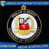 Medalhão feito sob encomenda da medalha de ouro do metal da venda 2016 quente