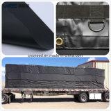 tela incatramata Anti-UV del PVC 610g per il coperchio americano del camion
