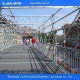 Échafaudage en acier de système de Ringlock de matériau de construction de HDG