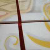 人工的な石造りの床タイルの建築材料の陶磁器の床タイルの磨かれたガラス化された磁器のタイル(FSD24023)