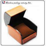Cadre de mémoire en cuir de luxe d'étalage d'emballage de montre (Sy072)