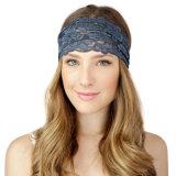 Nieuwe Stijl 2017 Toebehoren van de Kleding Headwrap van Headwear van het Hoofddeksel van de Verkoop van het Kant van de Manier van Headwrap van Vrouwen de Brede Hete Vrouwelijke Toevallige Boheemse