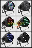 2017 die kan het Hete PARI van het Stadium van de Verkoop 54*3W RGBW Epistar LEDs voor de Verlichting van DJ door Fabriek wordt gemaakt