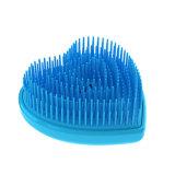 Neue Herz-Form-Mädchen-Geschenk Beauty-Plastikhaar-Tool Kamm-Haar-Bürste (HLM-739)