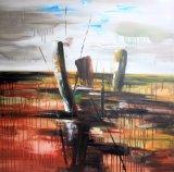 Peinture à l'huile paysage abstraite-Nouveau design