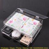 Rimuovere un trucco acrilico del cassetto/casella cosmetica