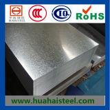 Tôle d'acier galvanisée plongée chaude de fer avec le prix de Compertitive